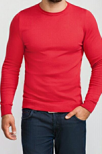 Джемпер мужской красный