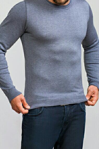 Джемпер мужской серый