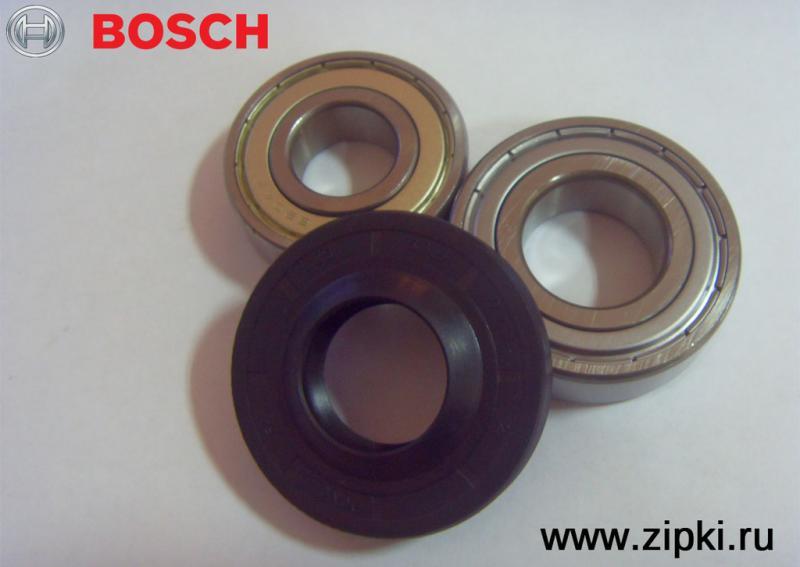 Ремкомплект подшипников с сальником для стиральных машин Bosch / Бош