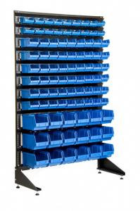Фото  Стеллажи для метизов с ящиками. Ящики для метизов
