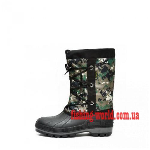 Фото Обувь для рыбаков и охотников Сапоги (Бахилы) зимние, шипованные - 30 ºС ох 14 ос 1.08