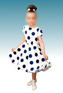 Фото Детская одежда Платье Retro