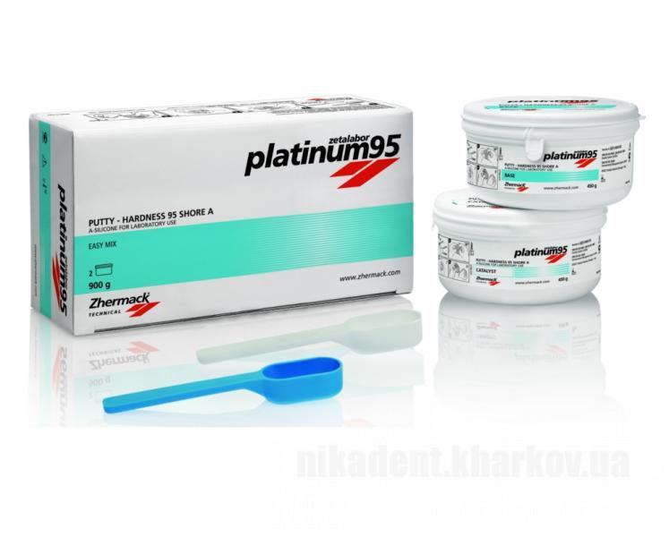Фото Для зуботехнических лабораторий, МАТЕРИАЛЫ, Силиконы технические Platinum 95 (450г+450г)