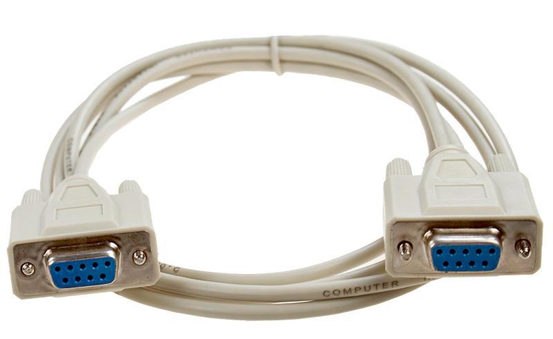 Нуль-модемный кабель (1 м).