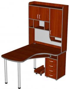Фото Компьютерные столы Компьютерный стол Школьник