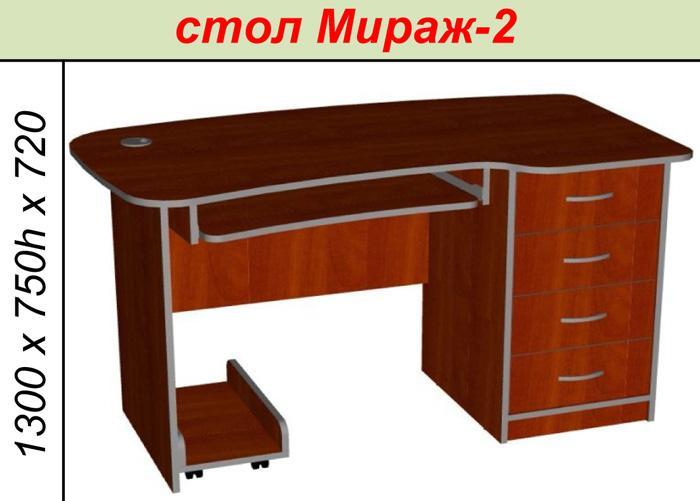 Стол Мираж-2