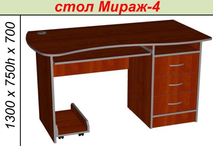 Стол Мираж-4