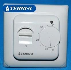 Фото Теплые полы , tehni-x Кабель нагревательный двухжильный Tehni-x SHDN-1600 площадь обогрева 6.0-8.0 кв.м
