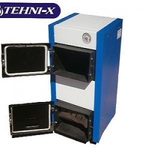 Фото Теплые полы , tehni-x Твердотопливный комбинированный котел Tehni-x КОТВ 15 У Премиум мощность15 кВт