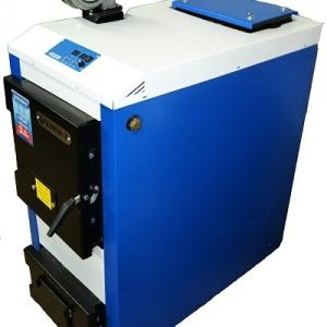 Твердотопливный котел длительного горения Tehni-x КОТВ 24 ДГ М professional мощность 24 кВт сталь 4 мм
