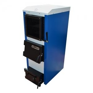 Твердотопливный комбинированный котел длительного горения Tehni-x КОТВ 35 ДГМ professional мощность 35 кВт