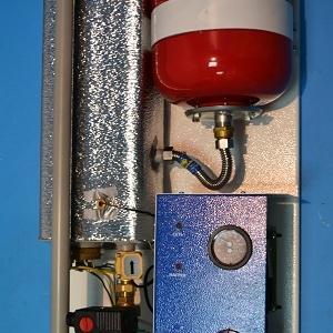 Фото Теплые полы , tehni-x Котел электрический Tehni-x КЭО 3 Премиум РБ с встроенным циркуляционным насосом и расширительным баком мощность 3 кВт