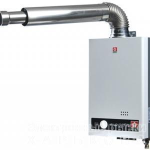 Газовый проточный водонагреватель SAKURA TURBO Jet 10 - Газовые конвекторы на рынке Барабашова