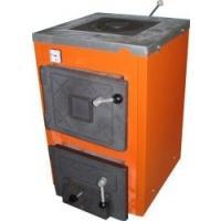 Фото Отопление, Котлы газовые напольные, термобар Твердотопливный котел с плитой ТермоБар АКТВ-12