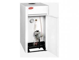 Фото Отопление, Котлы газовые напольные, данко Газовый котел Данко 10СВ - двухконтурный дымоходный 10 кВт