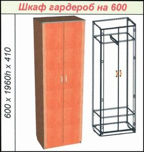 Шкаф гардероб на 600