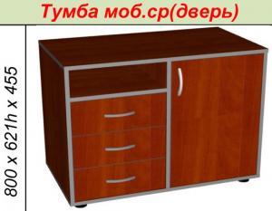 Фото Офисная мебель Тумба моб. ср(дверь)