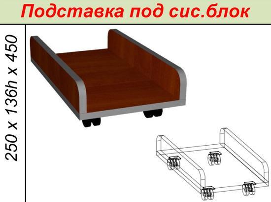 Подставка под сис. блок