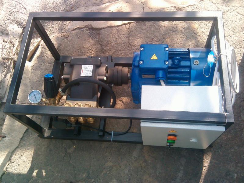 Стационарный аппарат высокого давления АВД15.15