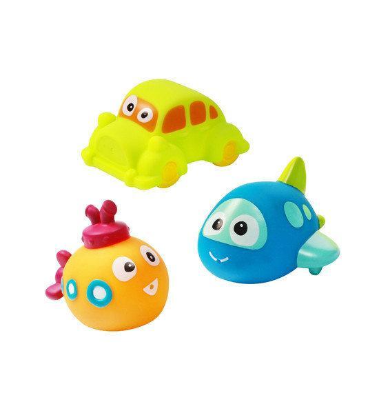 Набор игрушек для купания, 3 шт в ассортименте