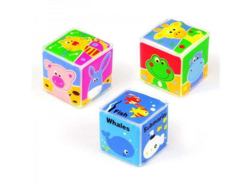 Кубики для купания в ванной Baby Mix