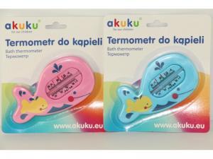 Фото       Для малышей, Гигиена и уход , Игрушки  и аксессуары для купания  AKUKU Термометр для воды