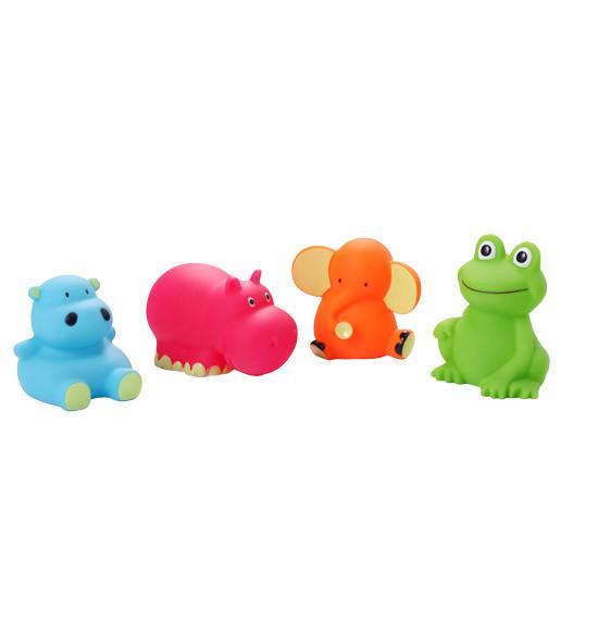 Игрушки для ванной  4 шт. (возраст 3m+) BabyOno (средние)