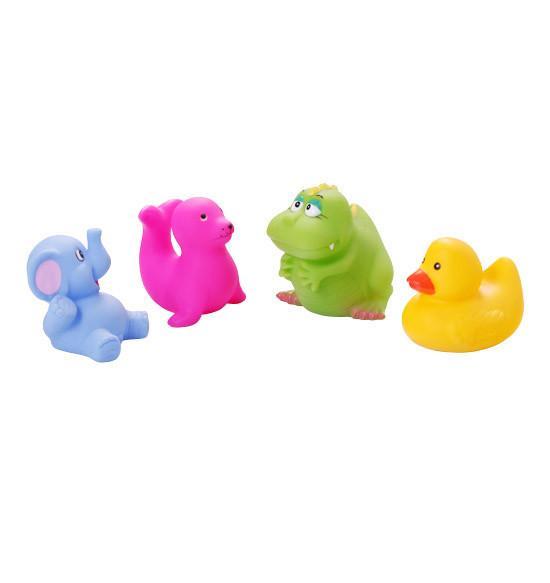 Игрушки для ванной 4 шт. (возраст 3m+) BabyOno (маленькие)