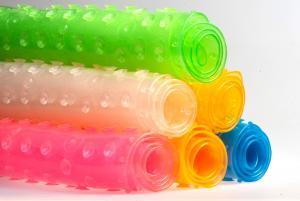 Фото       Для малышей, Гигиена и уход , Игрушки  и аксессуары для купания  Коврик для ванной 55х35 Baby Ono