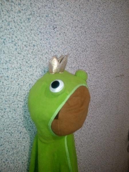 Карнавальный костюм Лягушка-царевна