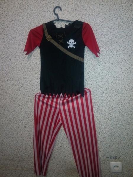 Карнавальный костюм Пират 4-6