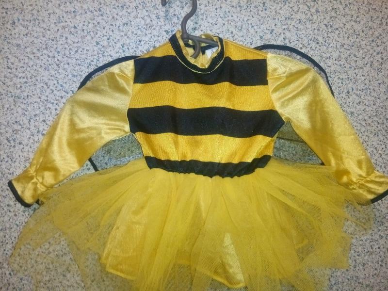 Карнавальное платье Пчелка