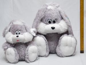 Фото Мягкие игрушки, Зайцы Зайчик сидячий 55 см