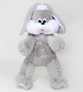 Фото Мягкие игрушки, Зайцы Зайчик Снежок 100см