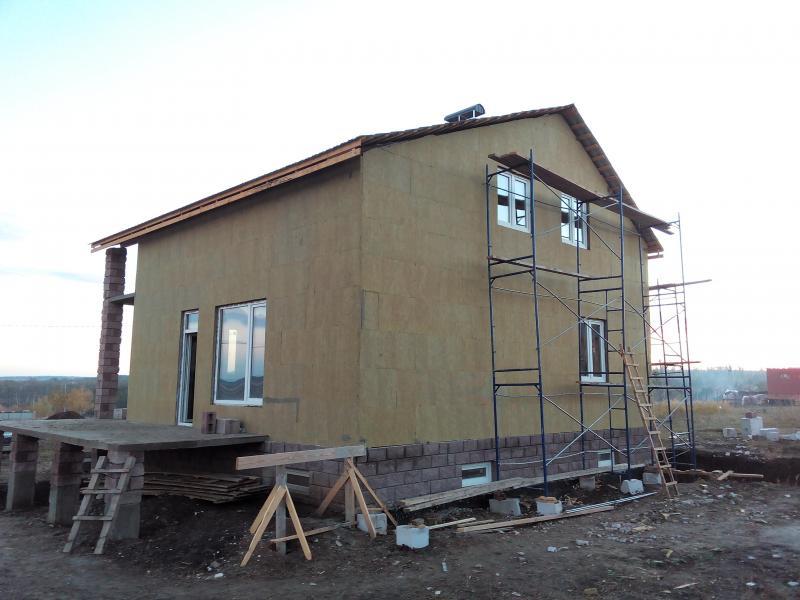 Утепление стен домов