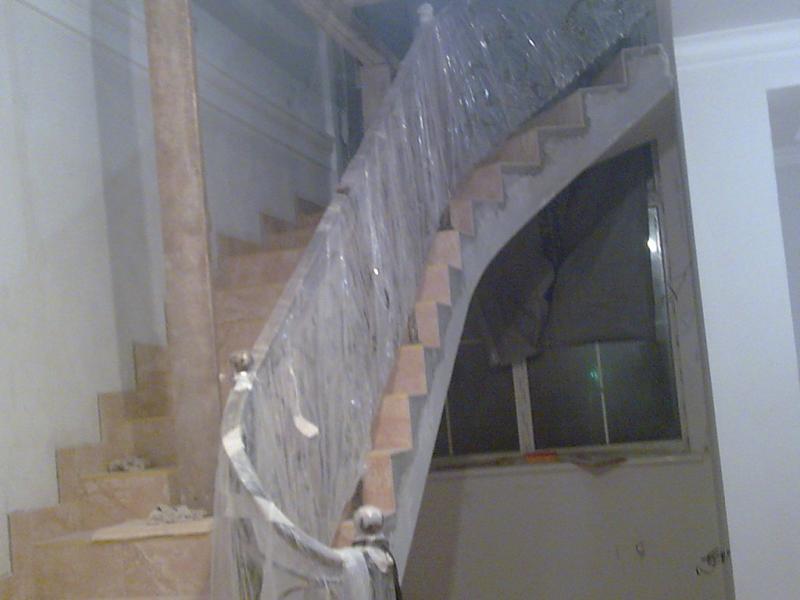 Строительство винтовых бетонных лестниц