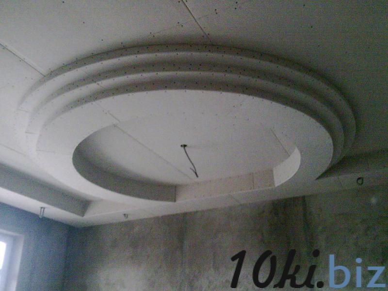 Гипсокартонные работы: монтаж потолков из гипсокартона,возведение перегородок Монтаж гипсокартонных конструкций в Самаре