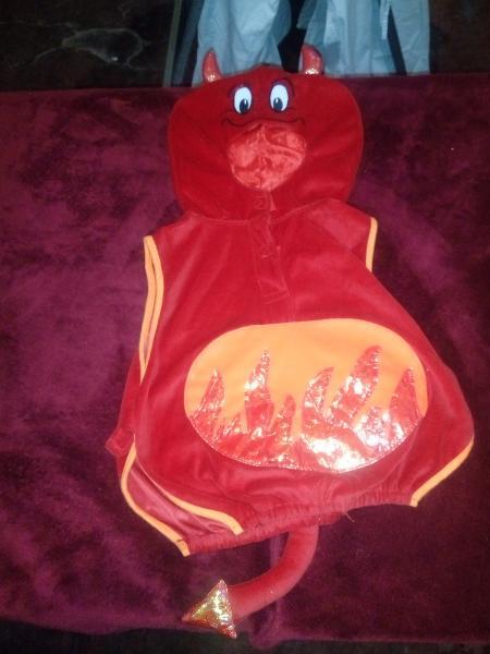 Карнавальный костюм Чертик,огонь