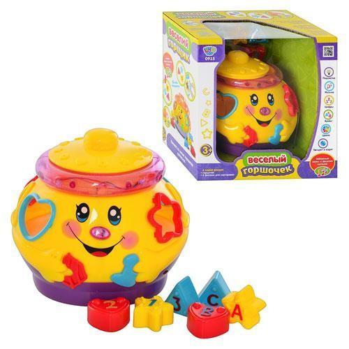 Волшебный музыкальный горшок, сортер Joy Toy