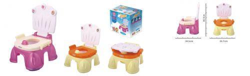 Детский горшок - кресло с крышкой