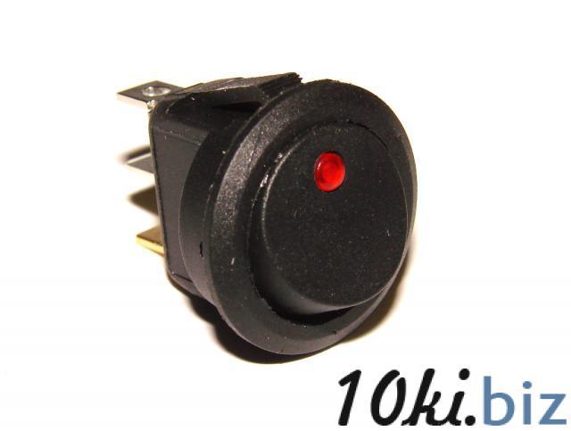 Переключатель 3 контакта с красной подсветкой Кнопочные выключатели в Украине