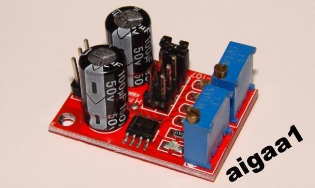 Регулируемый генератор импульсов на NE555