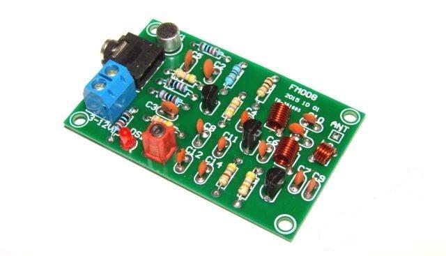 FM передатчик МР3, радиомикрофон 76 - 110 мГц