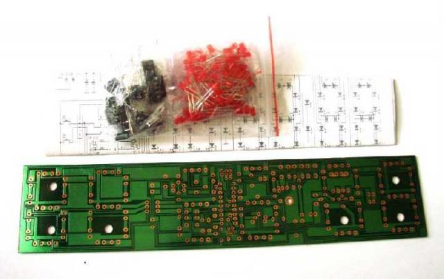 Набор Электронные часы 23 х 5 см. на STC12C2052