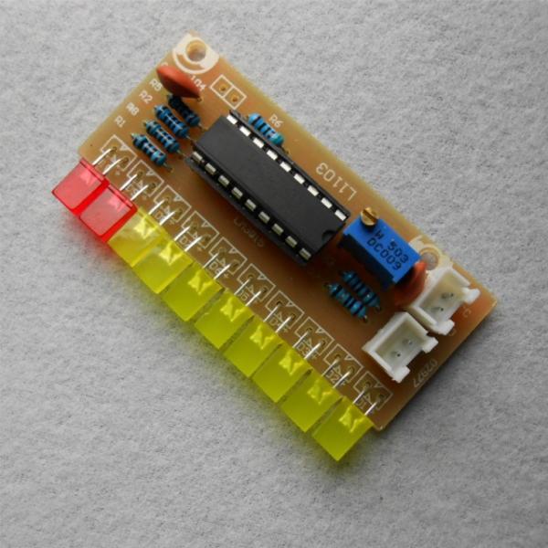 Набор для сборки 10-ти Светодиодный индикатор на LM3915