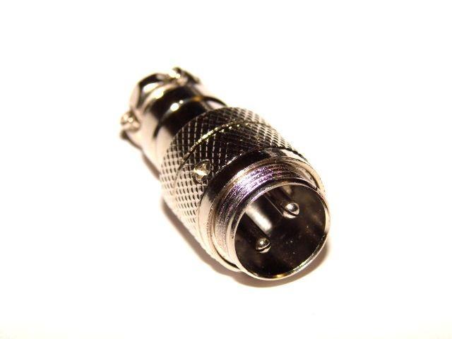 Штекер кабельный 2pin