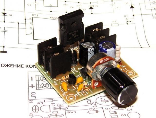 Регулятор мощности с ШИМ 20А 12 - 60В