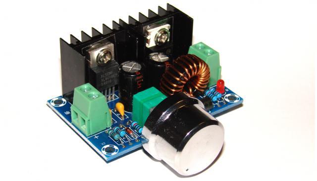 Регулятор напряжения с ШИМ на XL4016E1