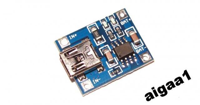 TP4056 модуль , зарядное LI-ION mini USB