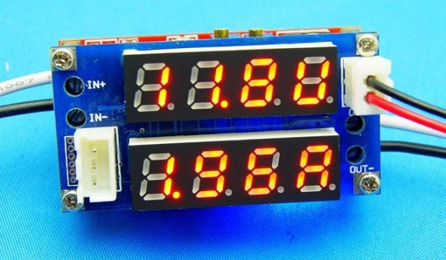 Стабилизатор напряжения и тока с регулировками, цифровая индикация